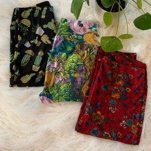 BRAND NEW ✨ bundle of 3 OS LulaRoe leggings
